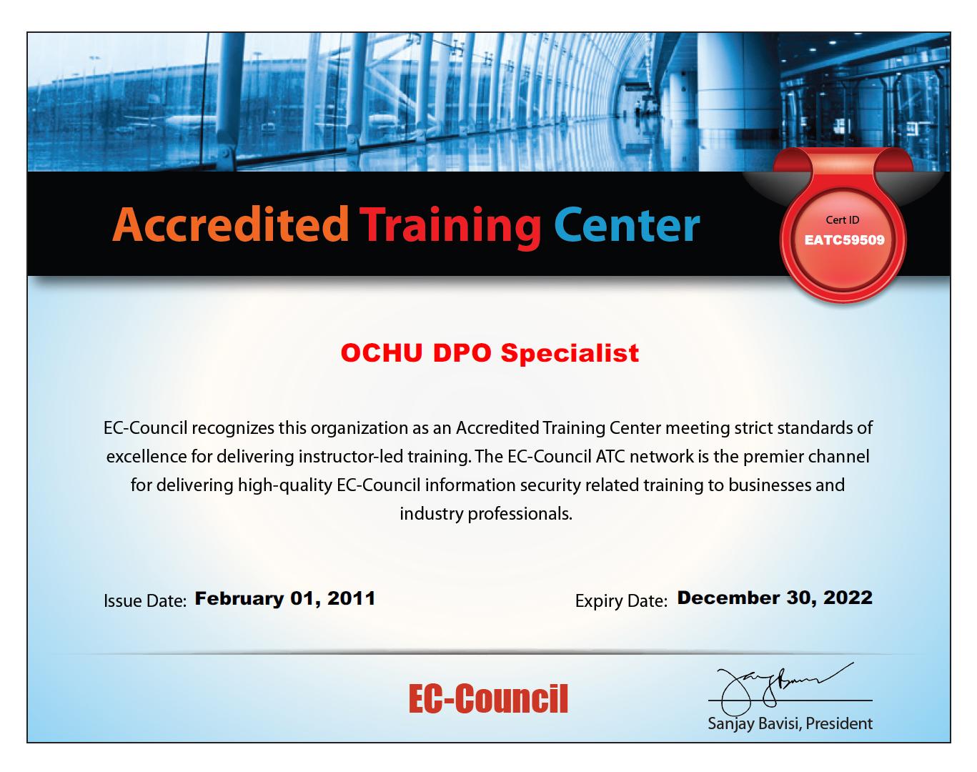 «Специалист» - авторизованный учебный центр EC-Council